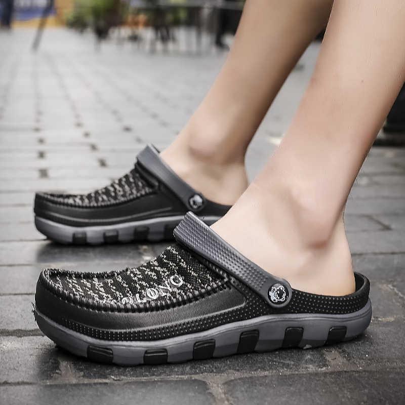 Men Water Sandals Summer Slippers