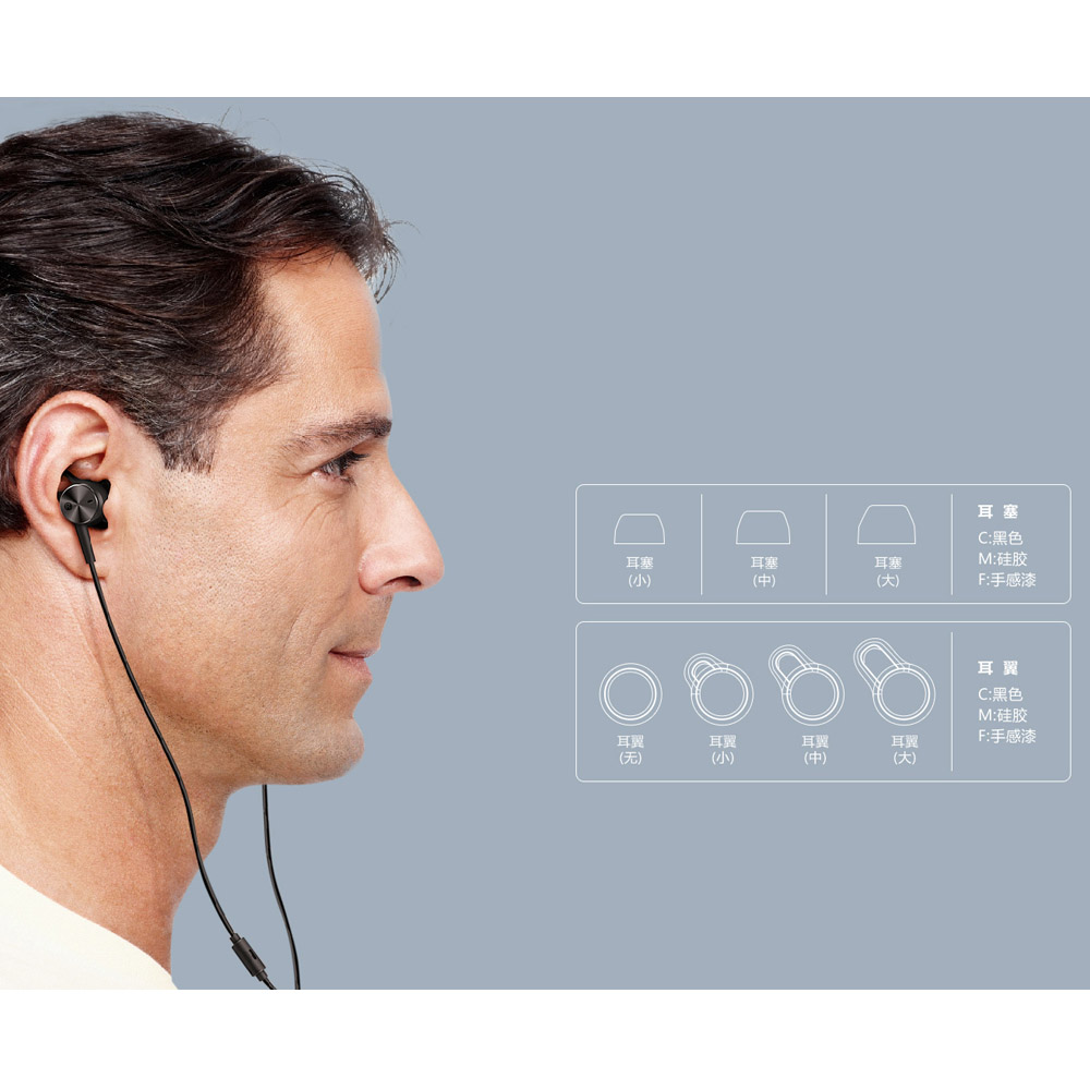 Écouteurs d'origine Huawei ANC type c écouteurs antibruit actifs 3 écouteurs de musique hi res pour P20/Mate 10/Mate Pro Mobile - 6