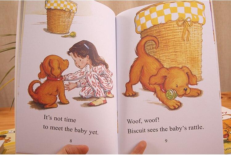 15 livres/ensemble + CD je peux lire petite bestiole anglais image histoire livre enfants bébé éducation précoce parent-enfant lecture livre cadeau - 5