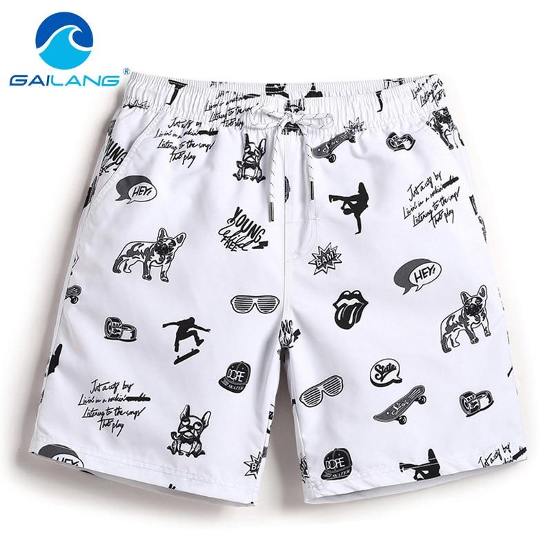 Gailang Brand Mens Casual   Shorts   Summer Beach Swimwear Men Boardshorts   Board     Short   2018 Quick Dry Swimsuits Man Jogger Trunks