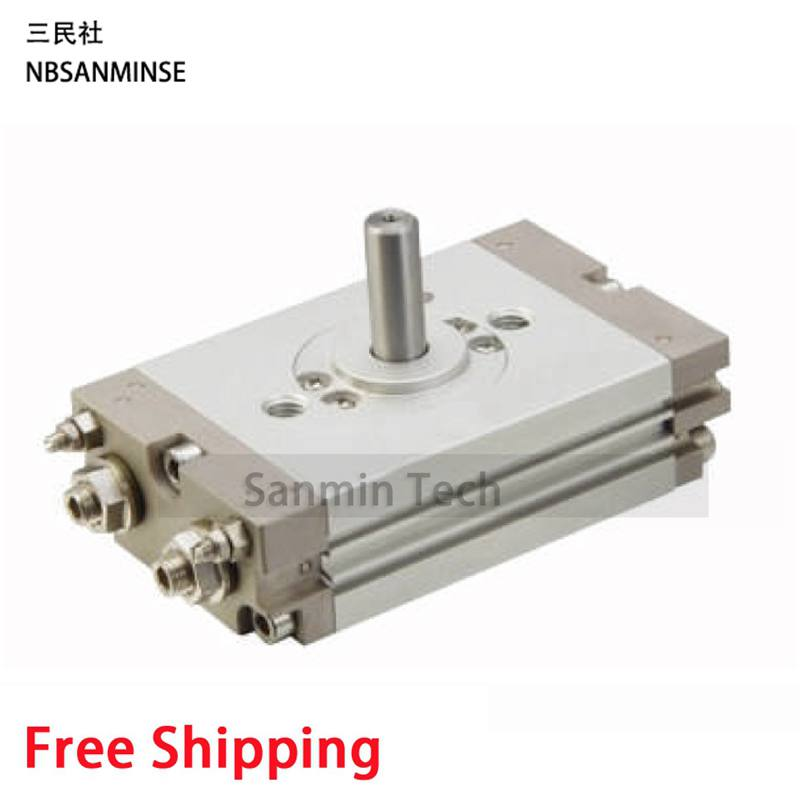 Compact Rotary Actuator Rack & Pinion Style CRQ2 SMC Pneumatic Compressed Air Cylinder High Quality Pneumatic Actuator Sanmin free shipping air cylinder pneumatic compressed parts msqb type pinion air non lube smc high quality on best sale sanmin