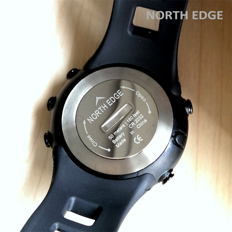 altitude peak outdoor north men edge clock watches digital index watch