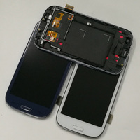 LCD For Samsung Galaxy S3 LCD Touch i9300 LCD Display I9300 LCD Screen Touch Screen Digitizer Assembly with Frame Replacement