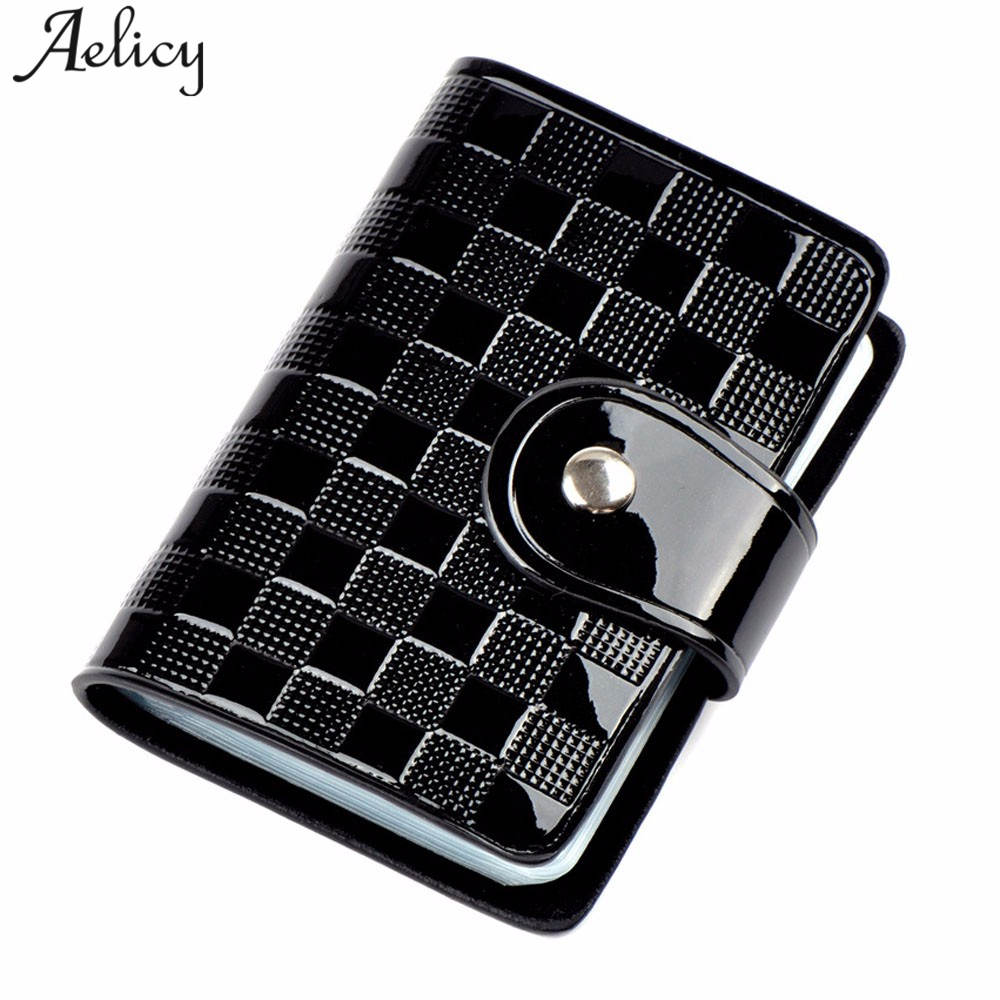 Aelicy Small Mens Wallet Card Holder Coin Pocket Business ID Credit Card Holder Wallets Pocket Case Bank Credit Card Package