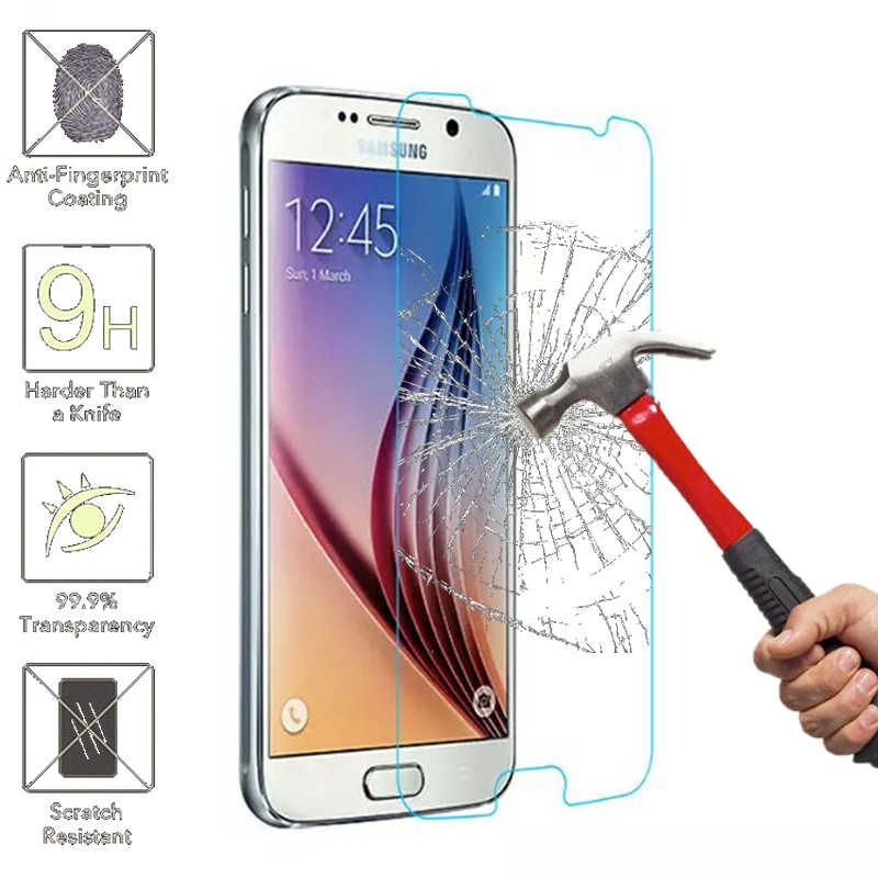 9H Sklo glas Tempered Glass For Samsung Galaxy S3 S4 S5 S6 A3 A5 J3 J5 2015 2016 Grand Prime Screen Protector HD Protective Film