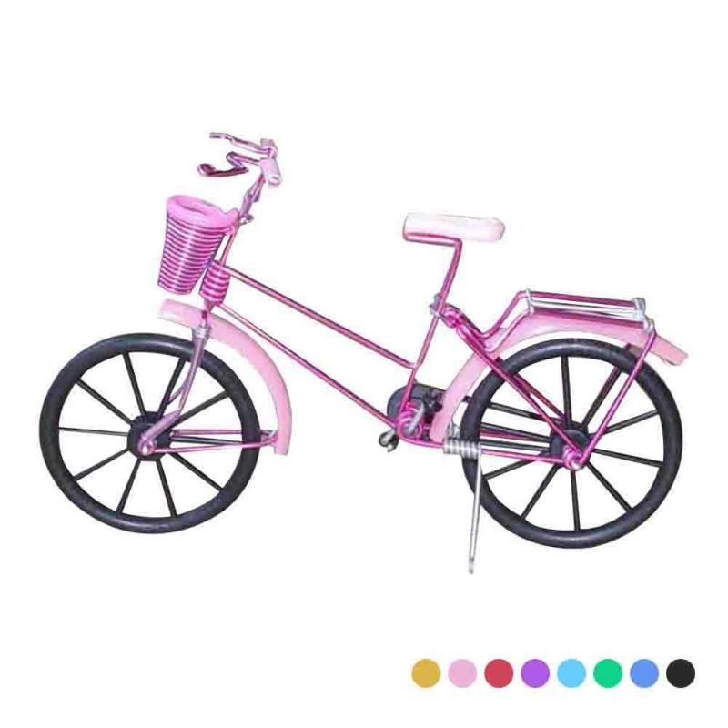 Retro Metal Bicycle Bike Model Handicraft Children Gifts Toys Home