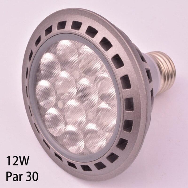 High Quality LED Par30 12W Led Lamp Led Par30 Spotlight Bulb 12pcs 3030 High Power Leds AC85-265v