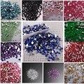 20000 Cristal Glitter Dicas Nail Art Pedrinhas DIY Decoração 2mm Tamanho Acrílico Gel 13 Cores para a escolha Frete grátis