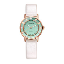 New Julius Women's Watch Japan Quartz Hours Cute Pearl Fine Fashion Dress Leather Bracelet Girl Retro Birthday Gift Box 927 цена