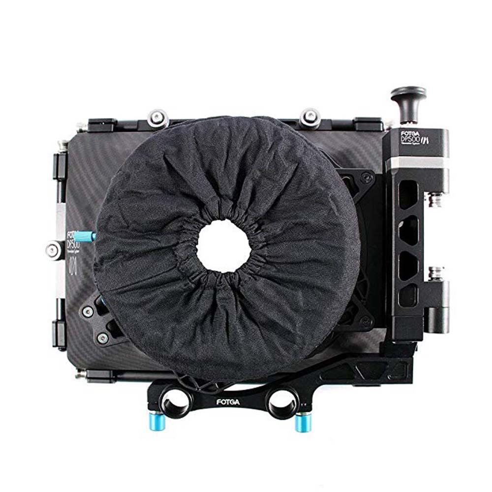 Couverture de Knicker de beignet de lentille de boîte mate universelle de Fotga pour la boîte mate de DP500III
