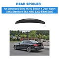 Спойлер на багажник автомобиля из углеродного волокна  для Mercedes Benz E Class E63 AMG E550 E500 E400 E350 E300 E250 E200 2010 - 2015