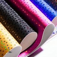 1 Meter PVC Glitter Leather Fabric Faux Artificial Leather Cloth for Hair Bow Belt Bag Shoes DIY Decoration Material Simili Cuir