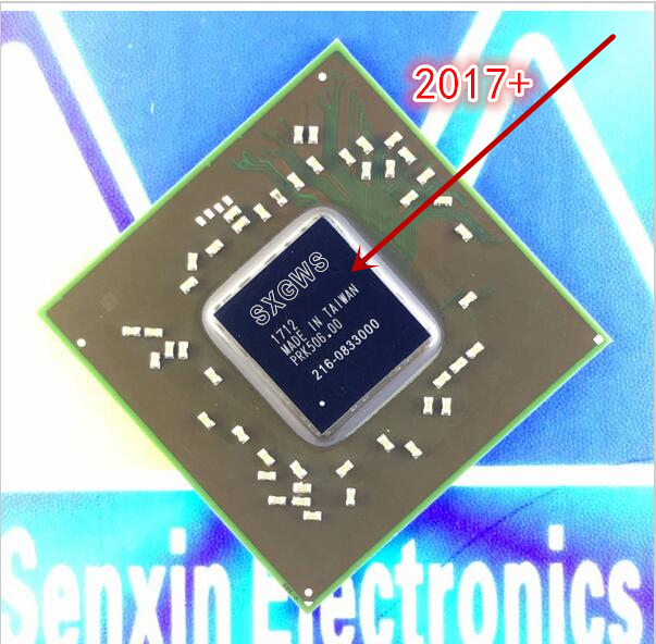 Free shopping 100% tested DC: 2017+ 216-0833000 216 0833000 ic chips with balls