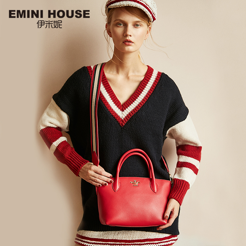 EMINI HOUSE Women s Genuine Leather Handbags Roomy Dumpling Shoulder Bags For Women Handbags Wide Strap