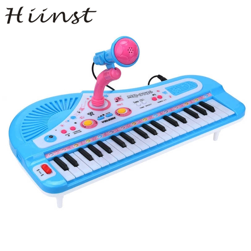 HIINST New 37 Keys Digital Music Electronic Keyboard Key Board Gift Electric Piano Gift S30 Aug1535