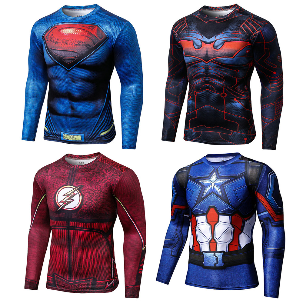 2019 New Summer Muscle Chest Hair Tattoo Spiderman 3D