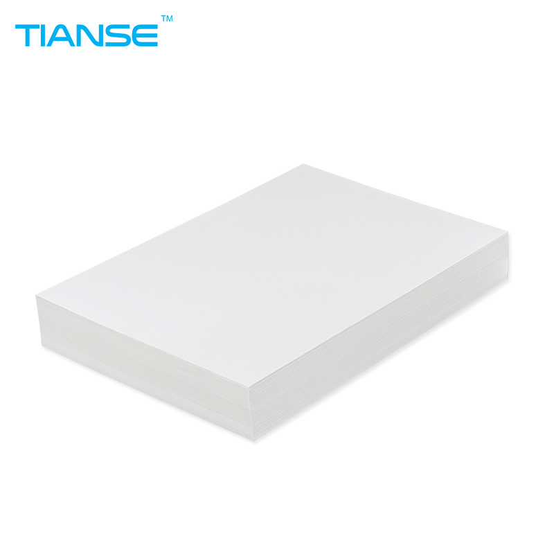 TIANSE White A4 copy paper business paper 100 sheets for printing document 80g note paper double sided coloured craft origami brand new universal one 100% recycled copy paper 92 brightness 20lb 8 1 2 x 11 white 5000 shts ctn