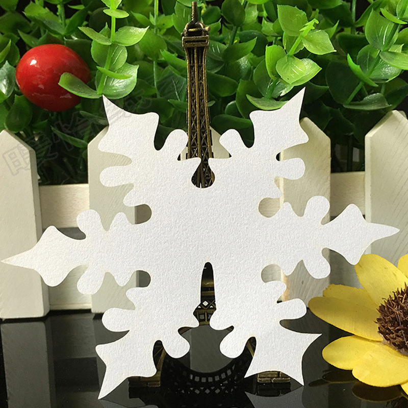 10 Color 50pcs Laser Cut Snowflake Paper Place Card  Escort Card  Cup Card Wine Glass Card For Wedding Decoration Favors