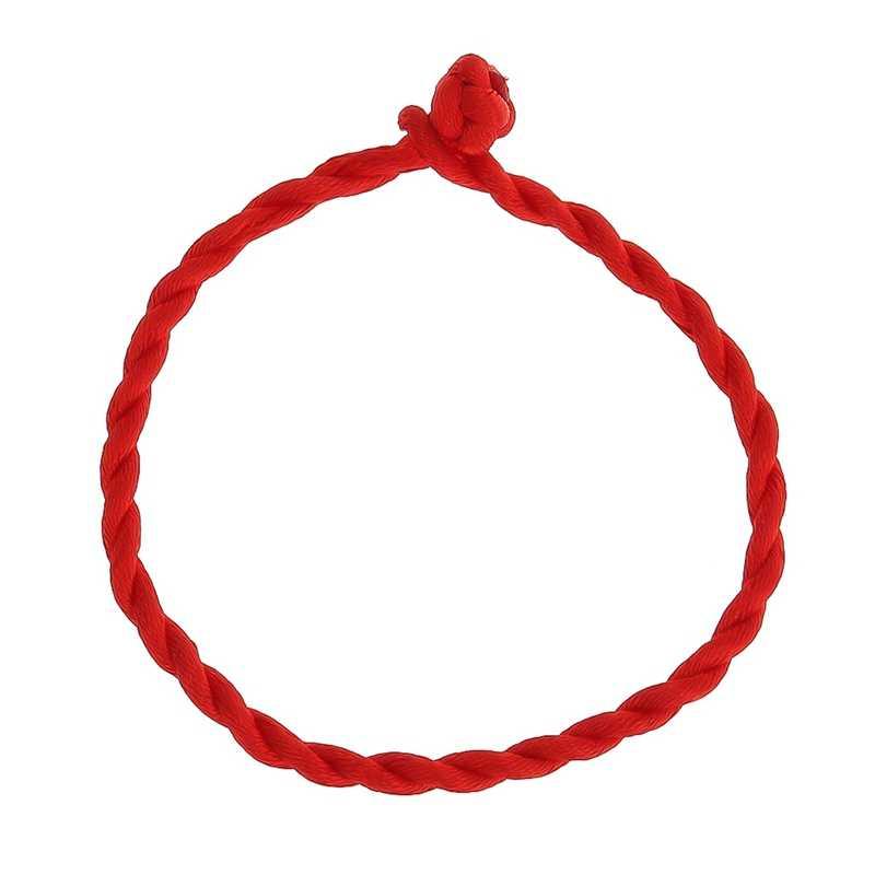 Горячий мужской браслет красный веревочный браслет браслеты на удачу на ноге для женщин шнур веревка линия ручной работы ювелирные изделия для любовный подарок для пары