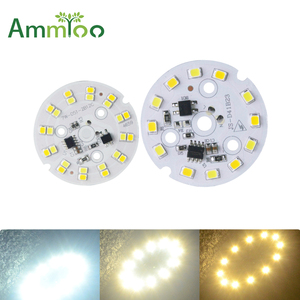 Image 1 - מכירה חמה LED מודול AC 220 V 230 V 240 V 3 W 7 W 9 W SMD 2835 אור LED להחליף הנורה Led אור מקור תאורה נוח התקנה