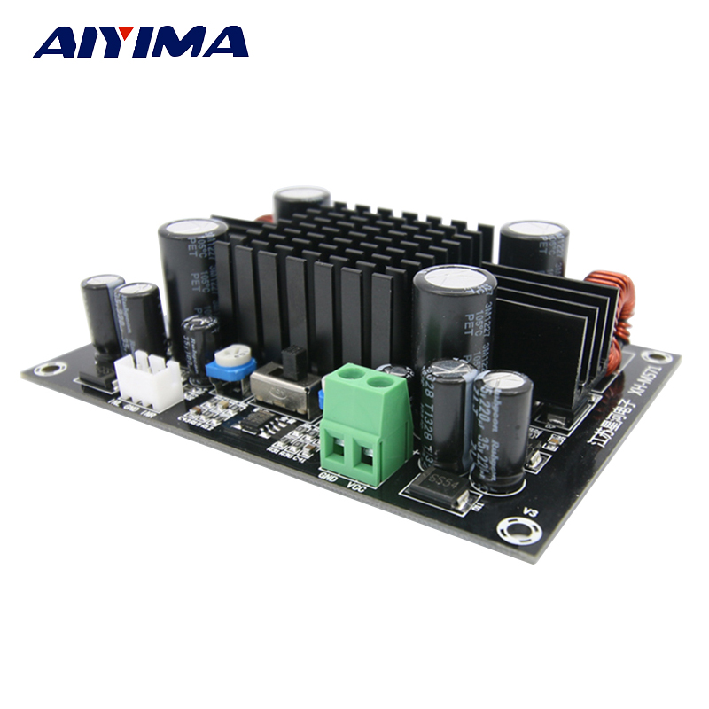 Aiyima High Power Subwoofer Audio Digital amplifier board Trolley Case boost amplifiers mono 150W