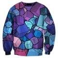 2017 Новое Прибытие 3D Смешные Толстовки Полиграфический Дизайн Пуловеры Горячей Моды мужская С Длинным Рукавом Повседневные Кофты Плюс Размер 5XL