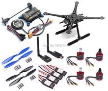 F450 450 мм/S500 печатной платы 500 мм Quadcopter кадров Комплект w/APM2.8 плате контроллера M8N gps 30A Simonk esc 2212 920kv 433 мГц телеметрии
