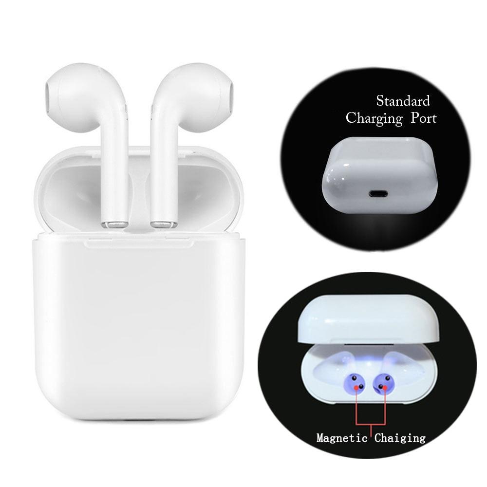 Drahtlose Kopfhörer sport Magnetische Ladegerät Box Earbuds I9 TWS 5,0 Bluetooth Kopfhörer Upgrade Kopfhörer Stereo bluetooth Ohrhörer