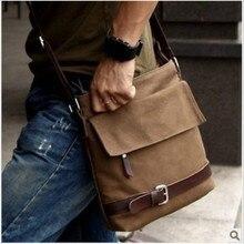 Купить с кэшбэком Men Bags 2019 New Men Messenger Bags Canvas Men Handbags Spring Summer Multifunction Travel Bags Satchel Casual Shoulder Bag