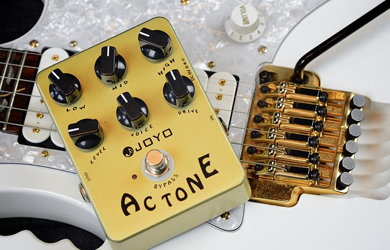Joyo JF-13 AC Tone Guitar Effect Pedal with Free Pedal Case педаль эффектов joyo jf 11 eq