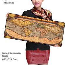 Mairuige Fashion seller Old World Map Overlock Mouse Pad Large Pad to Mouse Notbook Computer Mousepad Gaming Mouse Mats to Mouse modest mouse modest mouse strangers to ourselves 2 lp
