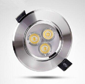 20 шт./лот 3*3 Вт rgb downlight Epistar потолочный светильник Встраиваемые пятно света 85 В- 245 В Бесплатная доставка