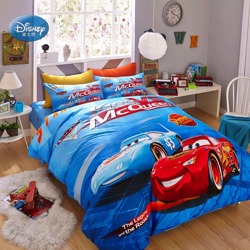 Discounts! Disney Mc Queen Cars 3D Print Cotton Bedding Sets for Kids Boys Birthday Gift Duvet Comforter Covers Pillowcases Discounts! Disney Mc Queen Cars 3D Print Cotton Bedding Sets for Kids Boys Birthday Gift Duvet Comforter Covers Pillowcases