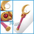 Аниме косплей Sailor Moon Queen Спокойствие Henshin Палочки Палочки Стержень Ручной Косплей Опора