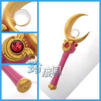 Anime cosplay Sailor Moon Queen Serenity Henshin Wand Stick Rod Handwork Cosplay Prop