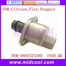 Nuevo Sensor De Presión De Combustible de la Válvula de Control De Succión SCV uso OE NO. 9665523380, 1920. QK/1920QK para Citroen Fiat Peugeot