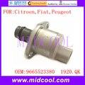 Novo Sensor De Pressão De Combustível uso Da Válvula de Controle de Sucção SCV OE NO. 9665523380, 1920. QK/1920QK para Citroen Fiat Peugeot
