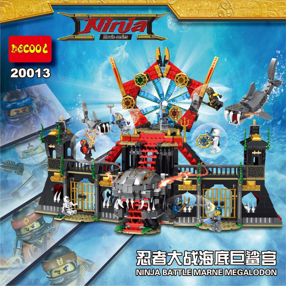 Decool Ninjagoes 20011 20012 20013 Building Blocks Bricks toys for kids gifts Fit for lego Ninjago for minifigure for LEPIN