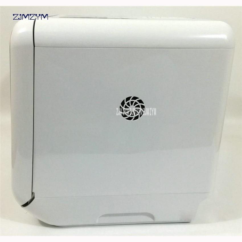 M1 free installation dishwasher home full automatic desktop mini smart embedded Dish bowl wash machine UV, tempered glass Shell 3