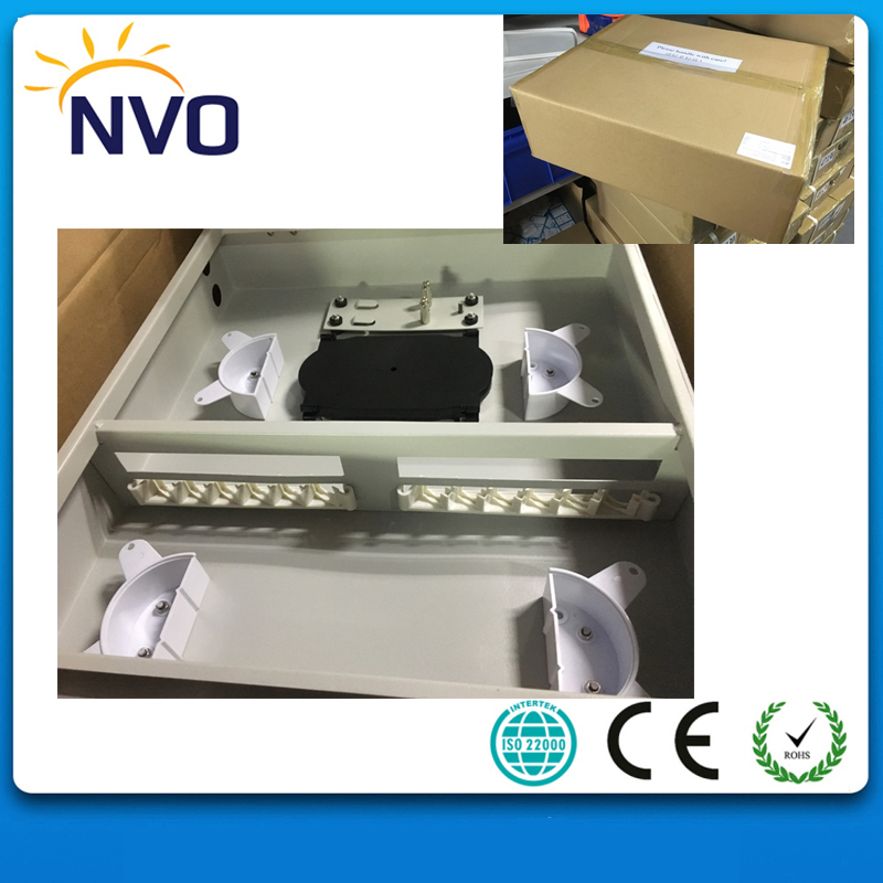 12core ST,FC Type cold roll steel Material Outdoor Wall mount Fiber Optic Distribution Frame,FTTH Fiber Terminal Box