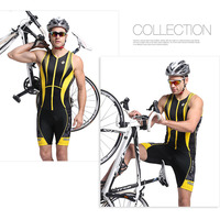 Professional Ironman Triathlon Suits Lycra Compression One Piece Jersey Cycling Jerseys For Man