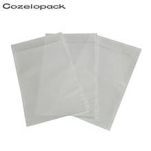 50pcs-4.5x5.5 7x10 Packing List Envelope Clear Face Invoice Slip Enclosed Pouch Self Adhesive Shipping Label