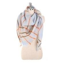 Nuevo wool scarf women thick long chales y bufandas triangulares 175cm bufanda de Cachemira Winter for