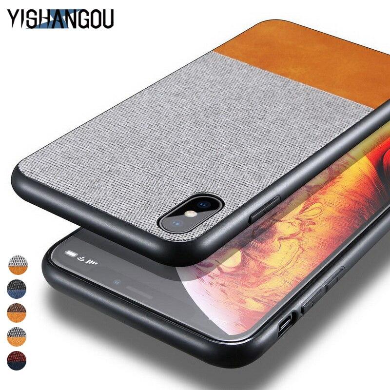 YISHANGOU Luxury Plating Mirror View PU leather Phone Case
