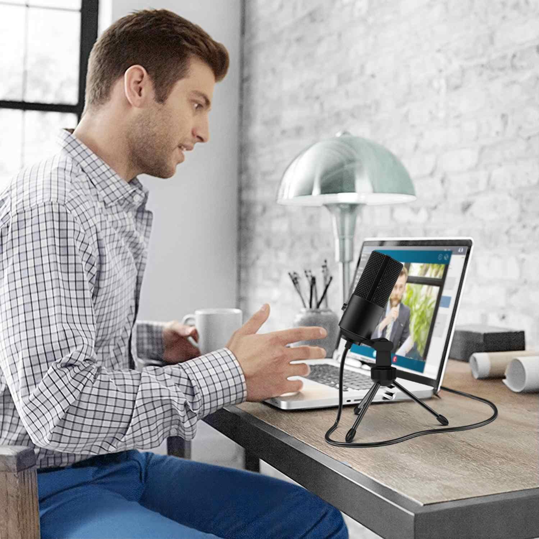 Microfono di registrazione USB Presa vestito per Computer Finestre MacBook di Alta Sensibilità per Strumento di Gioco Video di Registrazione K669B