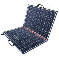 11,11 продажа 120 Вт (из 2 предметов * 60 Вт) Вт Складная черная солнечное зарядное устройство Китай моно ячейки модуль PV 10A контроллер одеяло, испо