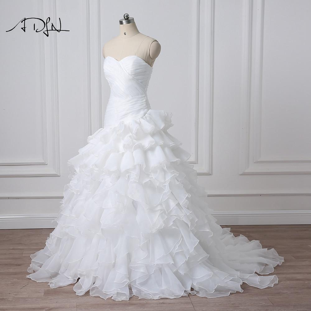 Noua Design vestidos de novia A-line Sheer Neckline imbracate cu - Rochii de mireasa - Fotografie 4