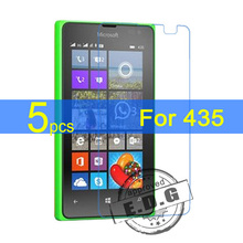 5pcs Gloss Ultra Clear LCD Screen Protector Film Cover For Microsoft Nokia Lumia 435 532 Protective