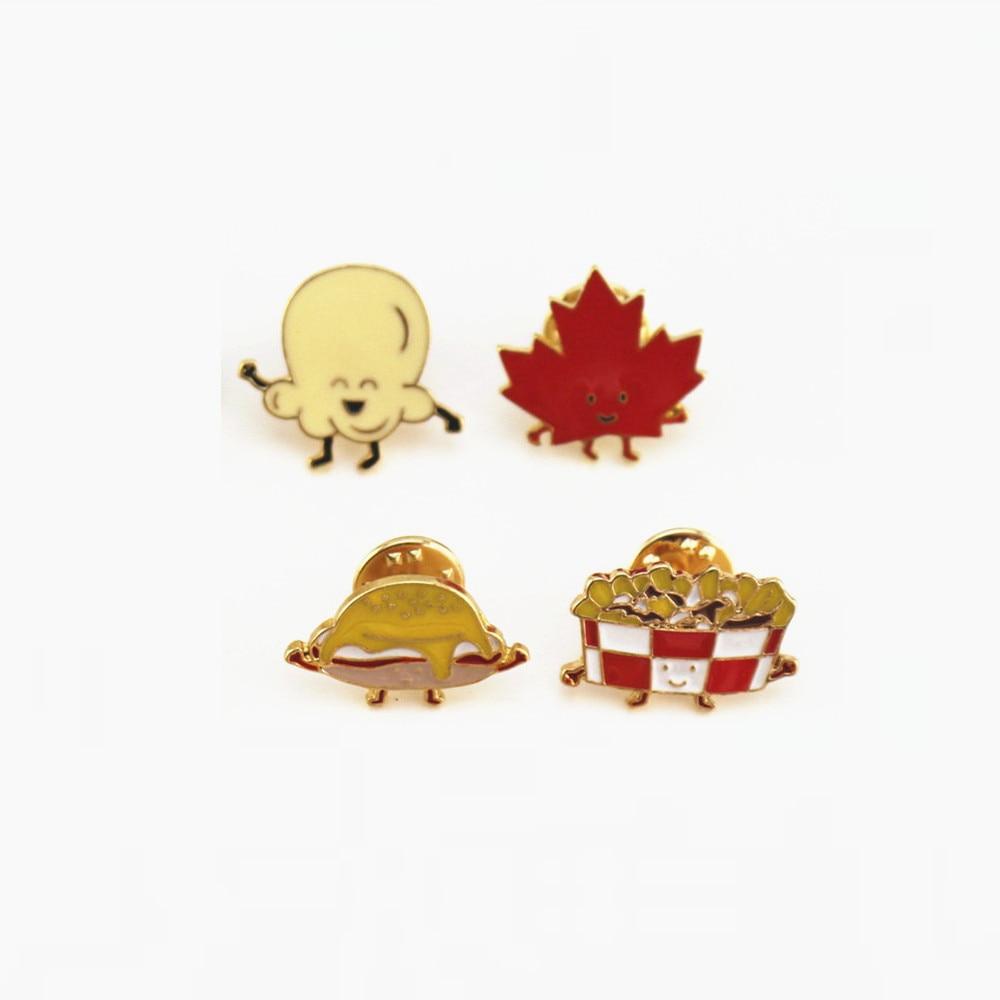 Carino serie di cartoni animati chip hamburger sveglio della