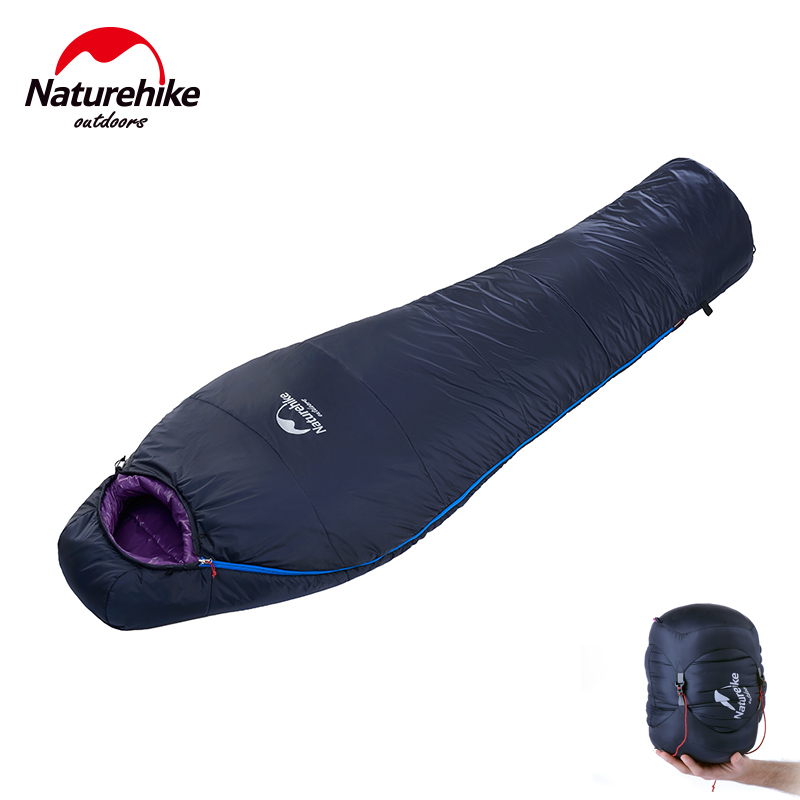 Ultralight Outdoor Mummy Sleeping Bag Backpacking Sleeping Bag for Tent Camping Hiking Travelling, Compression Sack Included